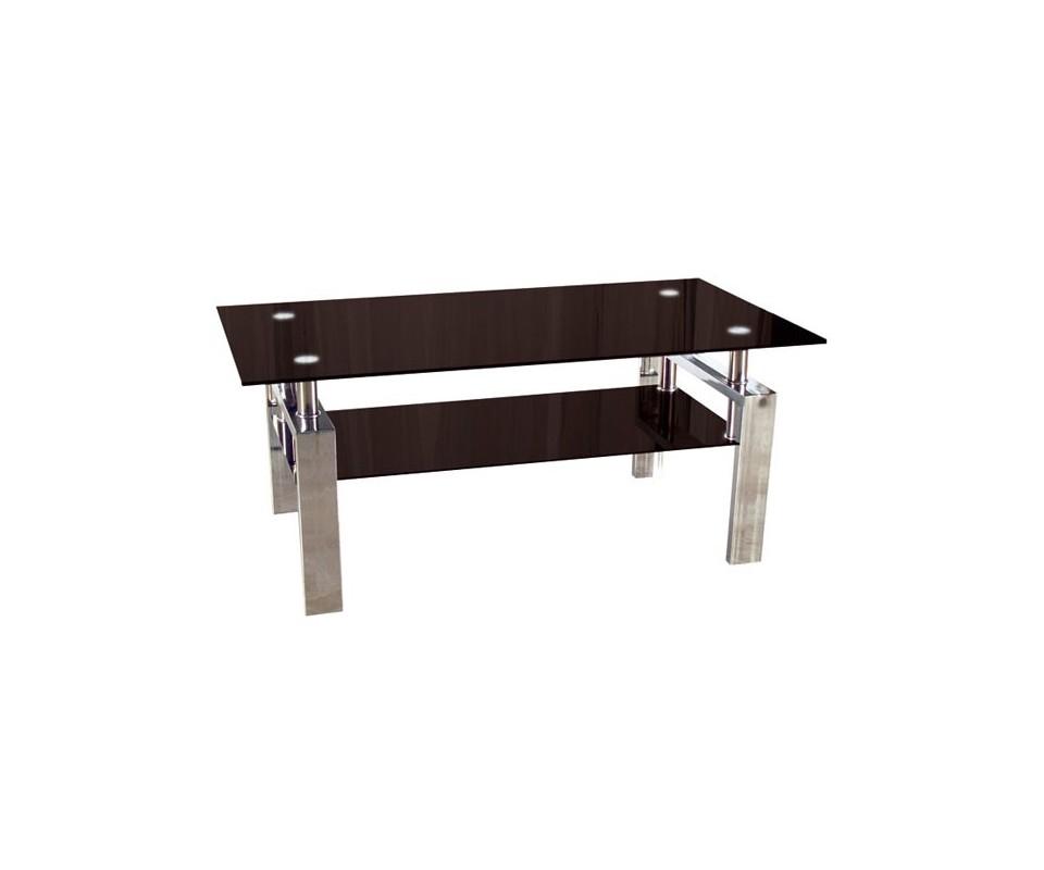 Comprar mesa centro metal y cristal precio muebles for Mesa cristal tuco