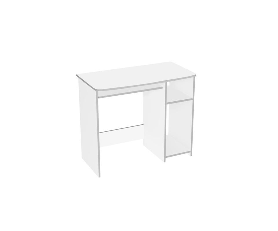 Comprar mesa estudio blanca barata precio muebles auxiliares - Mesa de estudio blanca ...