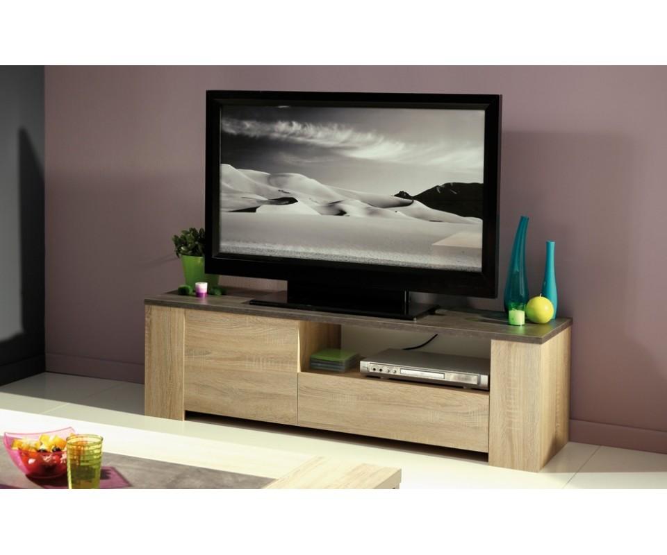 Comprar mesa de televisi n baja cisne precio muebles tv - Mesas de television baratas ...