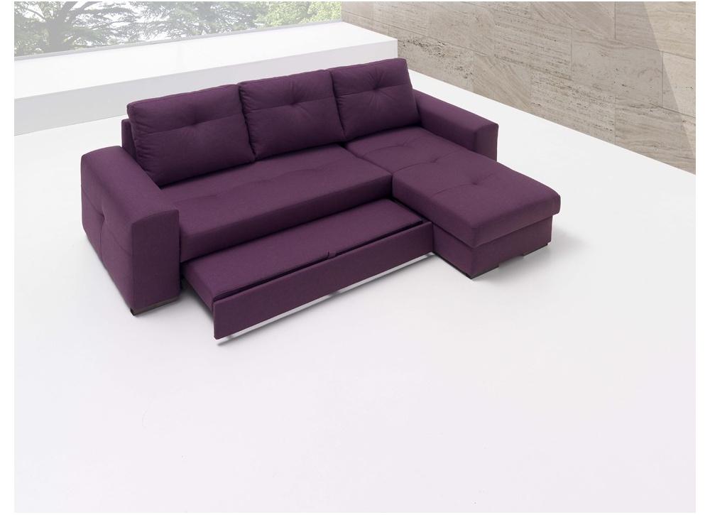 Sofá cama con chaise longue Montana