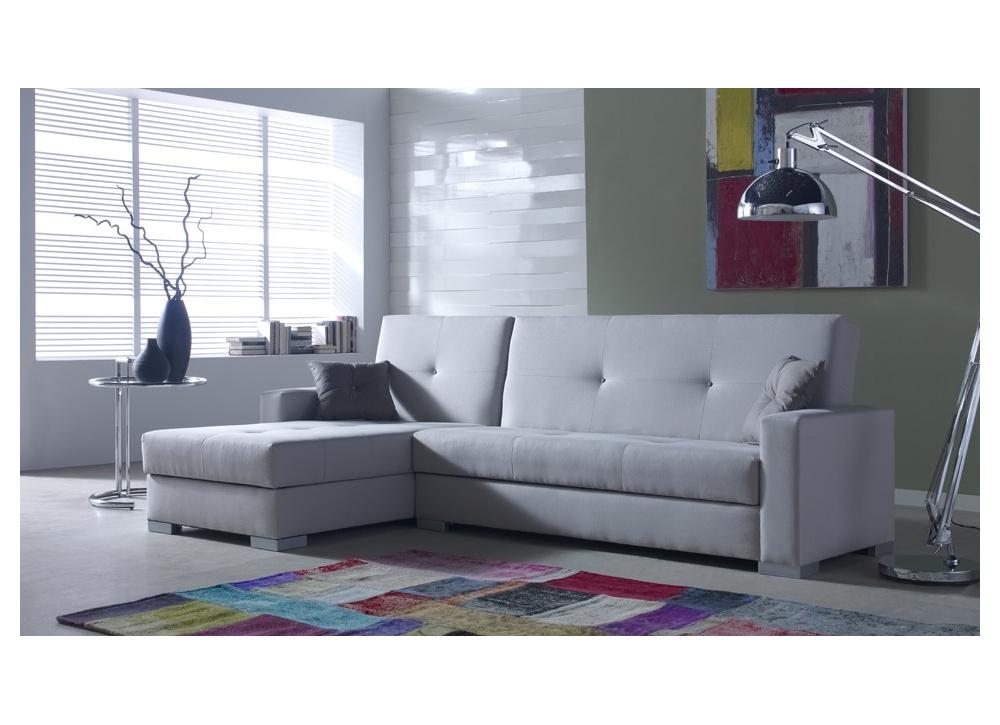 Sofá cama con chaise longue Ontario