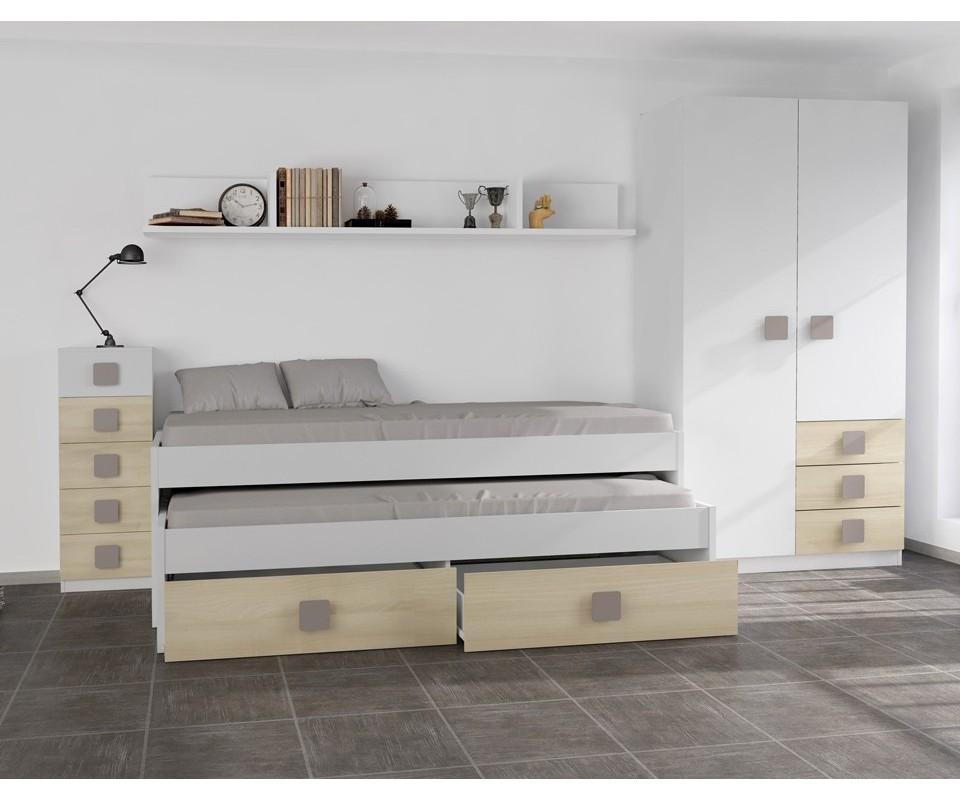 Comprar habitaci n juvenil rachel m s colch n precio conjuntos dormitorios juveniles - Comprar habitacion juvenil segunda mano ...