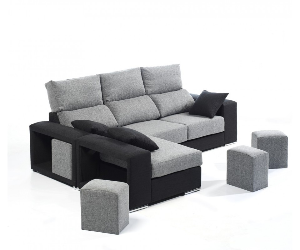 Comprar sof con chaise longue atlanta precio chaise for Sofa 1 plaza chaise longue