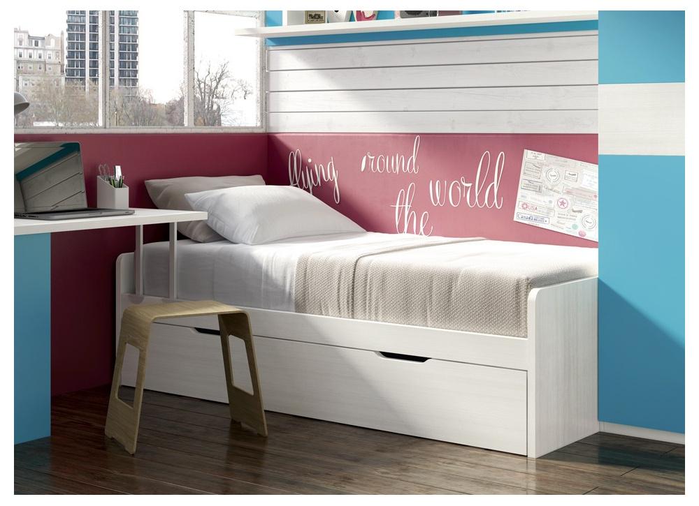 Cama nido con escritorio incorporado interesting cama for Cama nido escritorio incorporado