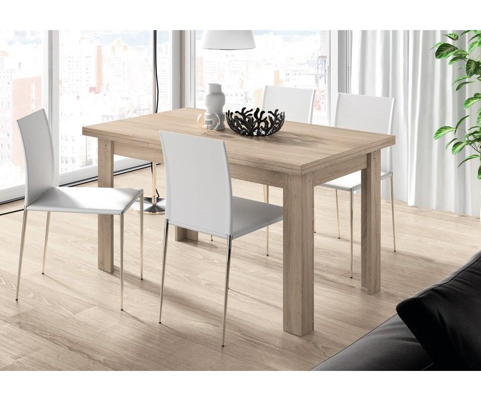 Comprar mesa extensible mesas baratas muebles for Mesa comedor industrial extensible