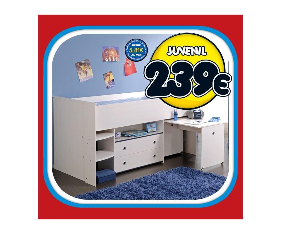 Comprar cama juvenil compacta precio juveniles - Cama juvenil compacta ...