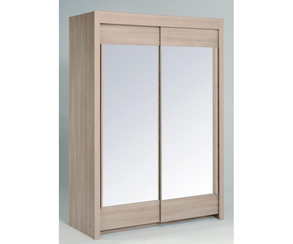 Comprar armario puertas correderas samara blanco precio for Armario puertas correderas 1 metro