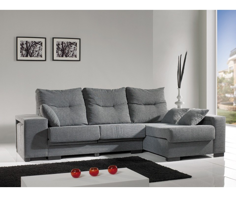 Comprar sof con chaise longue san luis precio chaise for Sofa con chaise longue