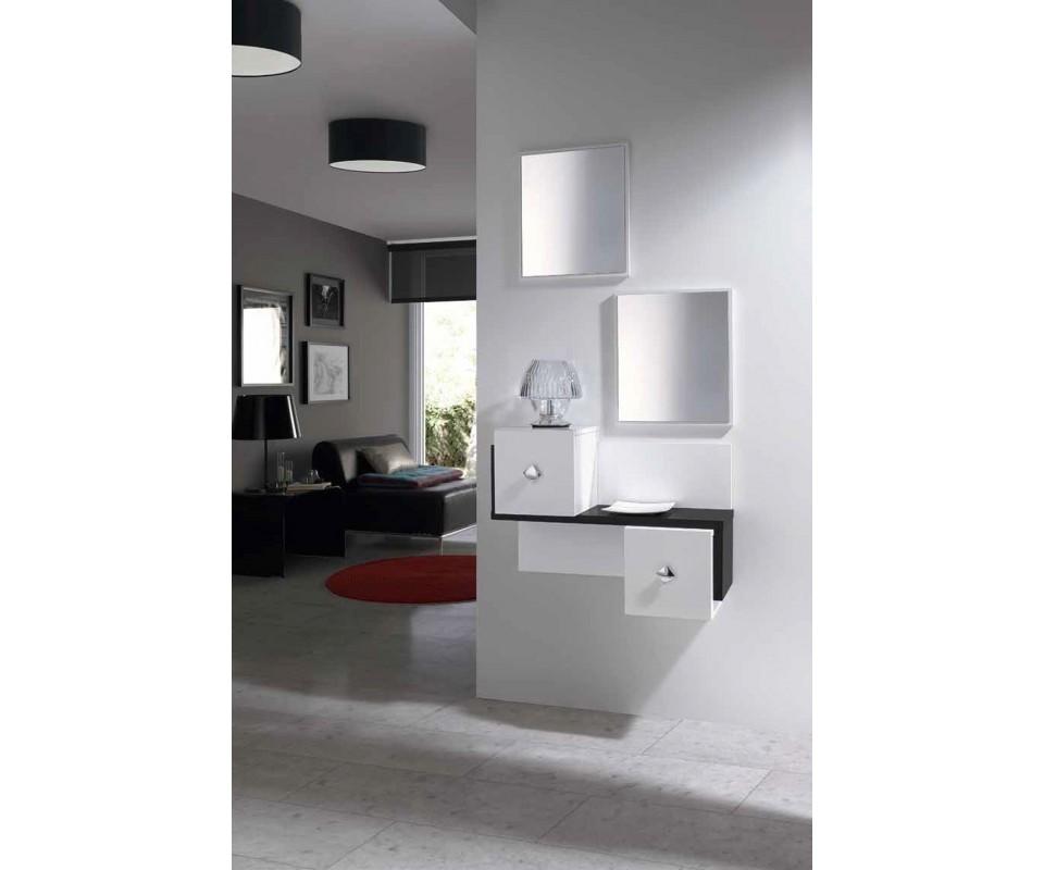 Comprar recibidor con espejo marte precio recibidores for Conforama espejos de pared