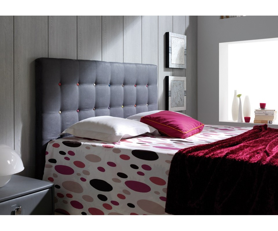 Comprar cabecero doble arcoiris precio cabeceros y camas for Cama doble precio