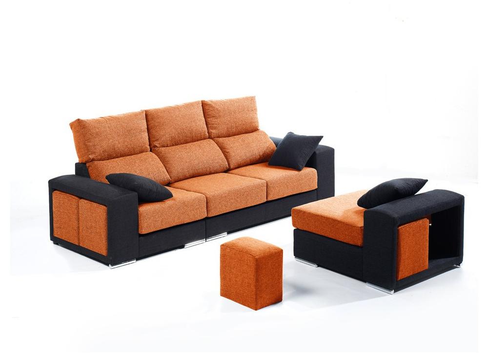 Sofá con chaise longue Atlanta