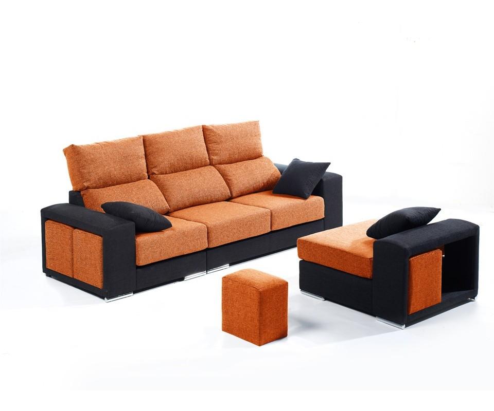 Comprar sof con chaise longue atlanta precio chaise for Sillones chaise longue