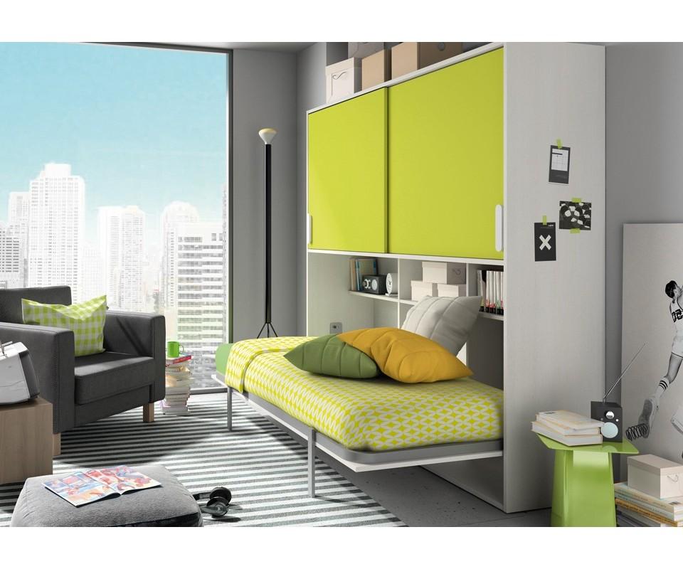 Comprar cama abatible ana con altillo precio camas abatibles - Precios literas abatibles ...