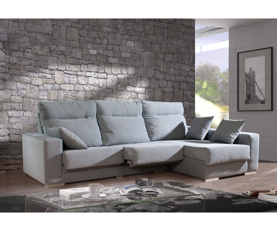 Fundas para sofa con cheslong best full image for plush - Funda para cheslong ...