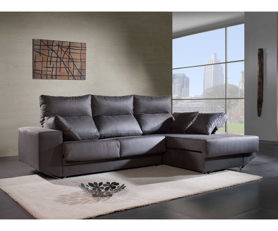 Comprar sof con chaise longue michigan precio chaise for Sofa 1 plaza chaise longue