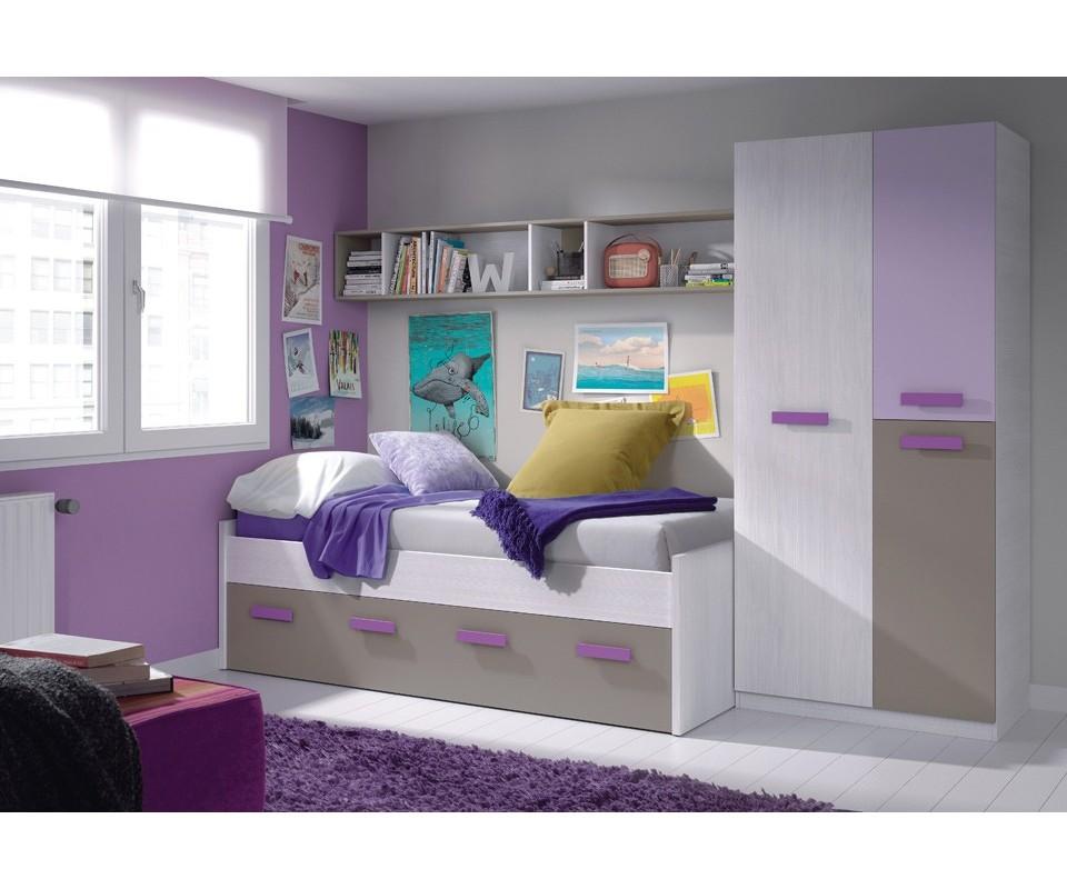 Comprar habitaci n juvenil alicia precio conjuntos dormitorios juveniles - Comprar habitacion juvenil segunda mano ...