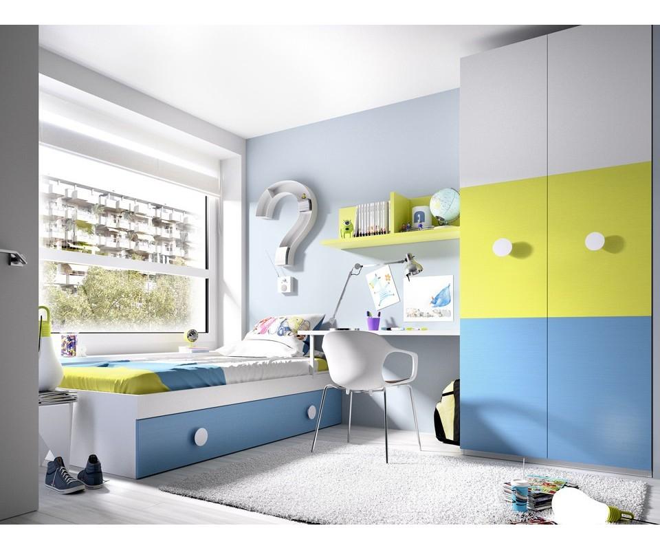 Comprar armario para habitaci n juvenil charlie precio for Armarios de habitacion