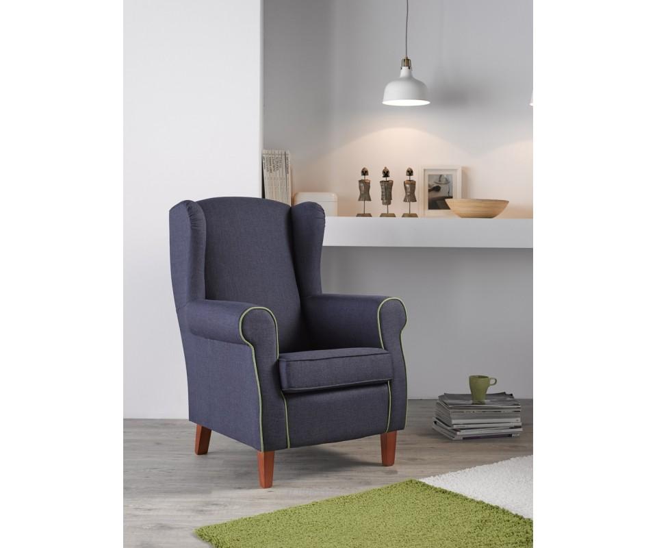 Comprar sill n orejero beverly liso precio de sillones - Precios de tapizados de sillones ...