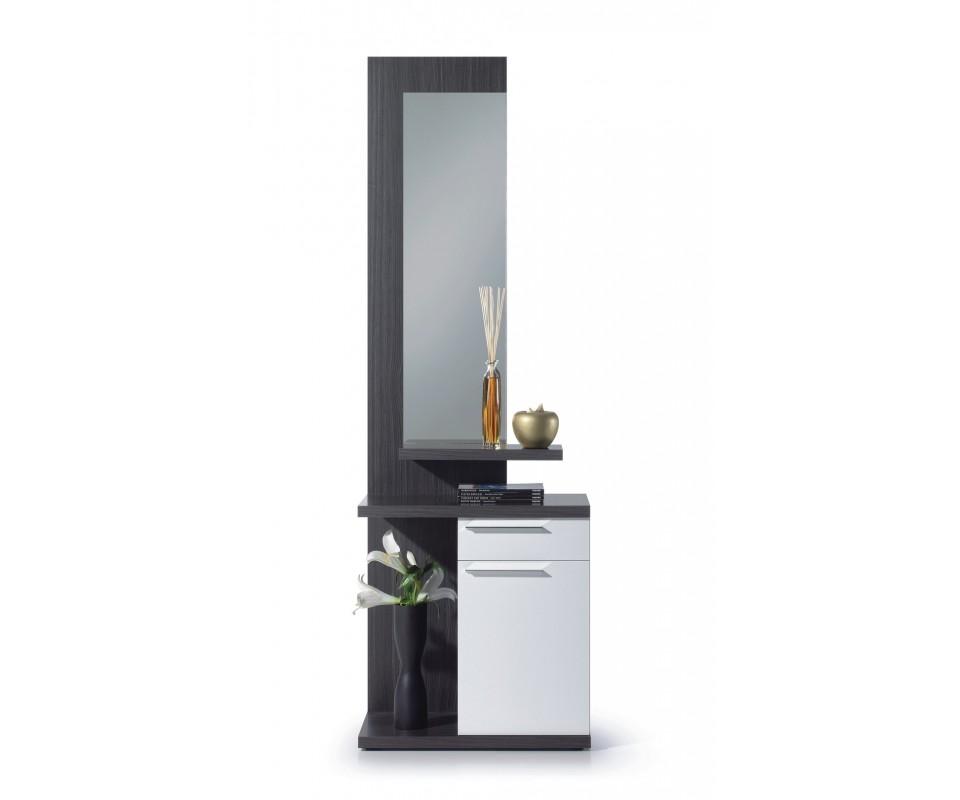 Comprar recibidor con espejo venus precio recibidores for Espejo recibidor blanco