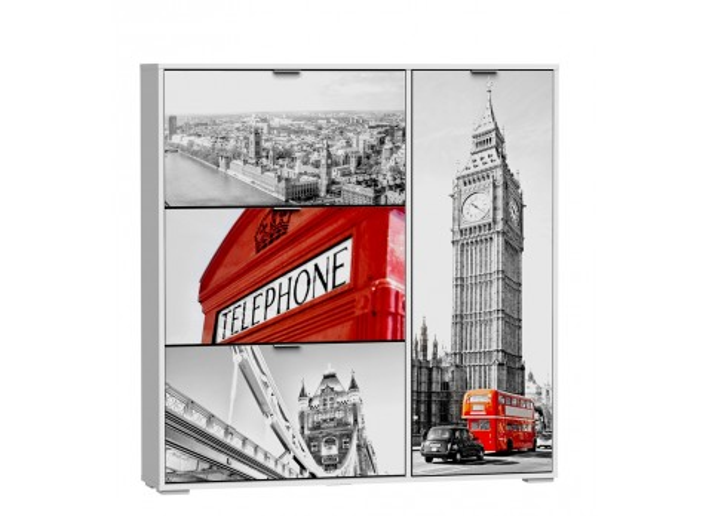 Zapatero serigrafiado London