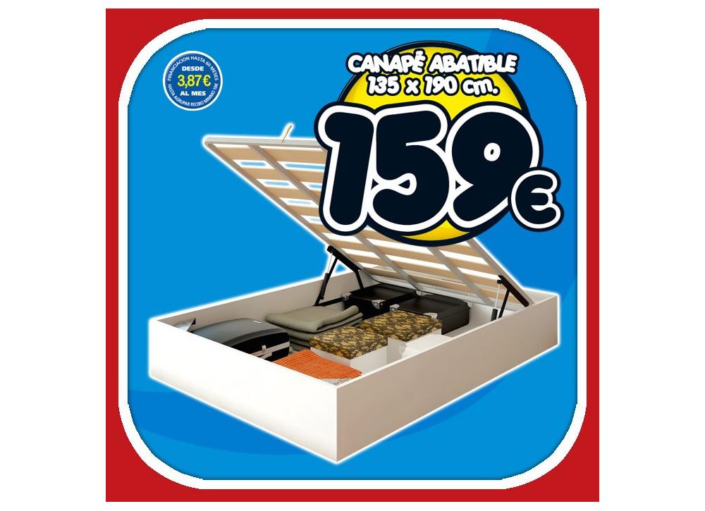 Comprar canape somier precio colchones for Precio somier 135