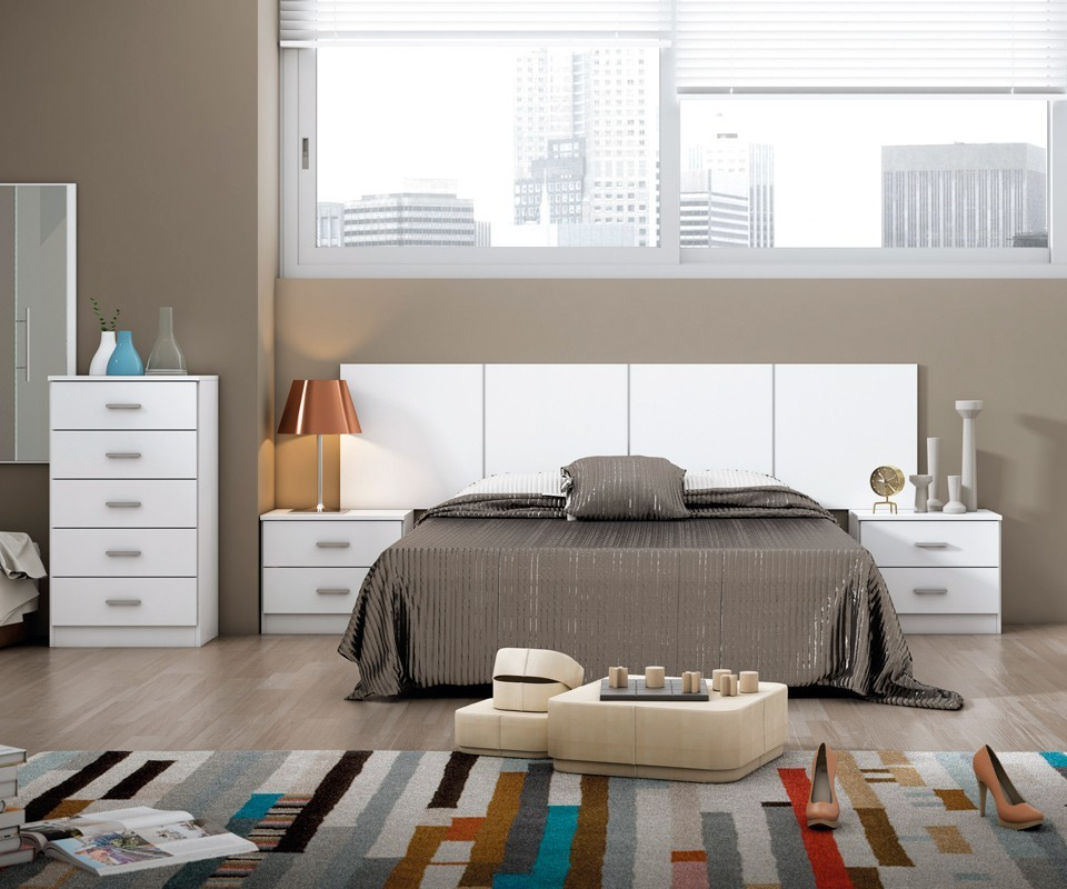 Cabecero para dormitorio moderno cyprus comprar for Cabecero cama 1 05