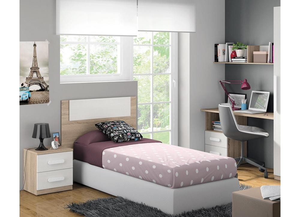 Cabecero de cama juvenil Lucía | Comprar Cabeceros en Muebles Tuco