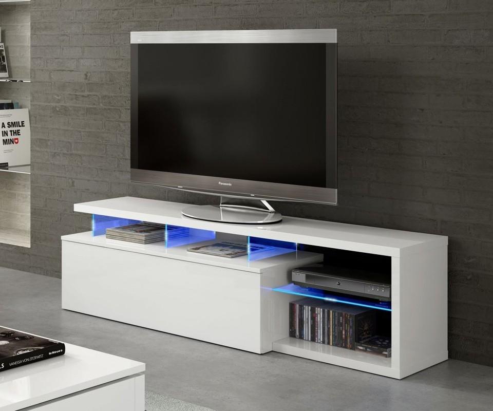 Mueble para tv con leds ligthen comprar muebles para tv for Muebles de tv modernos precios