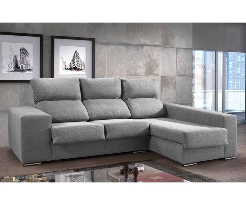 Comprar sof con chaise longue trinity precio sof s y for Sofa 1 plaza chaise longue