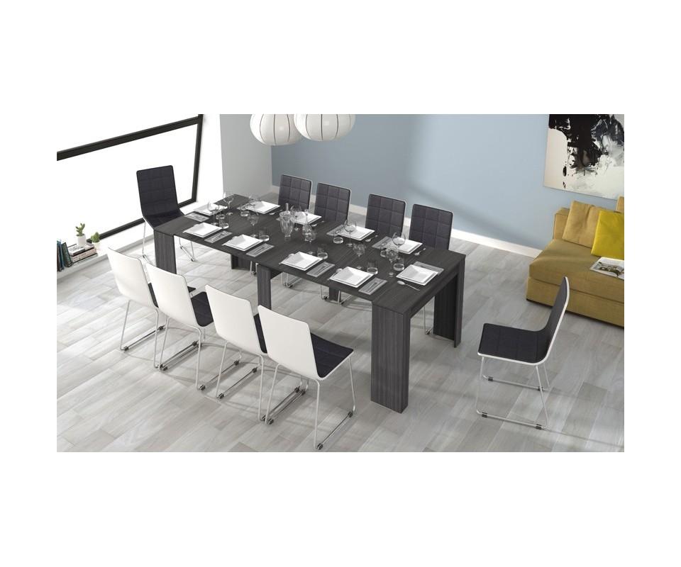 Comprar mesa multifuncional acacia precio mesas for Mesa comedor 90x90 extensible