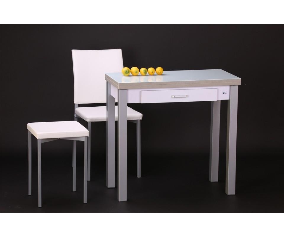 Comprar mesa de cocina con caj n areyns comprar mesas de for Mesa cristal tuco