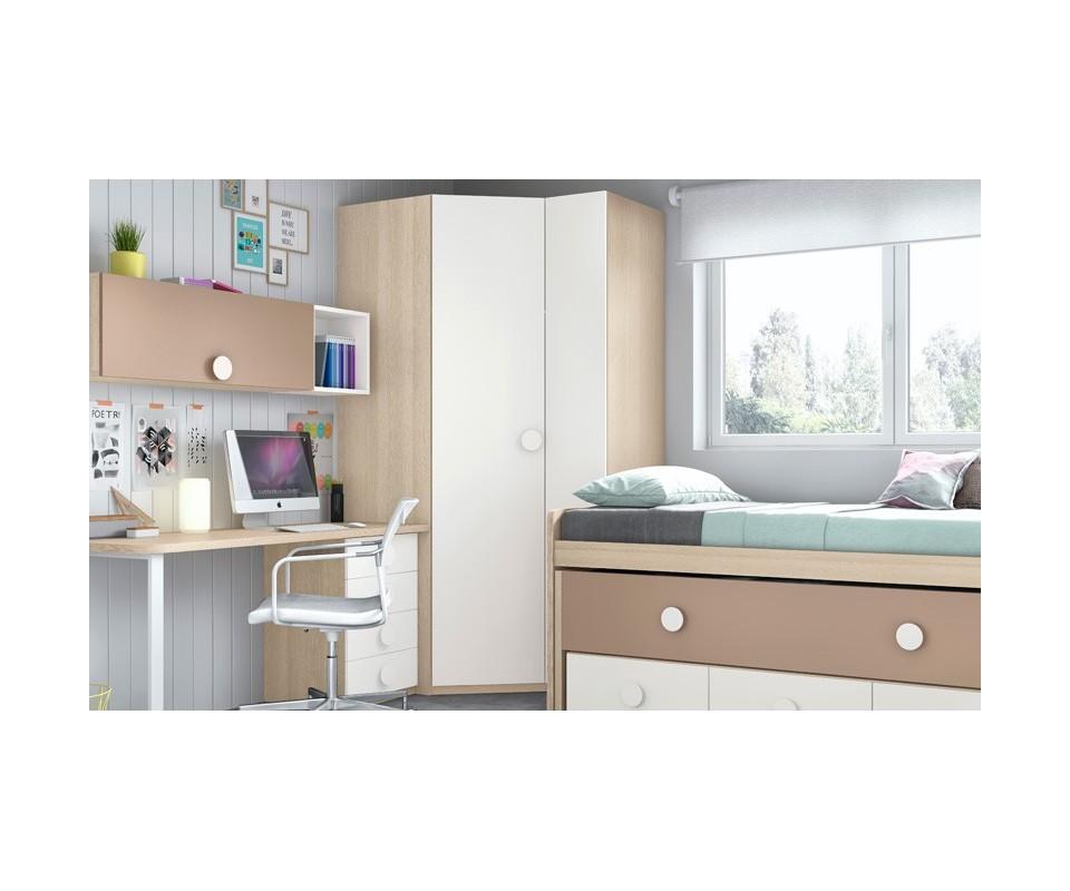 Comprar armario esquinero juvenil vega comprar armarios - Tuco dormitorios ...