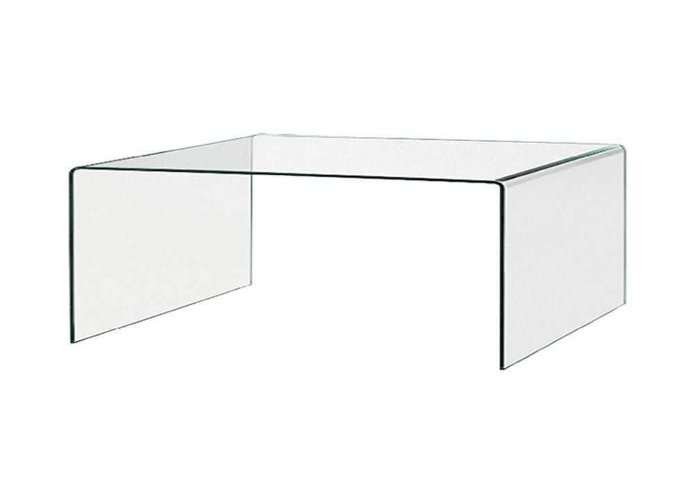 Mesa de centro de cristal Glass