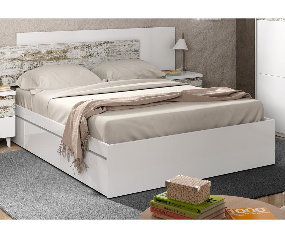 Comprar base con cajones evan precio camas en for Cama con cajones precio