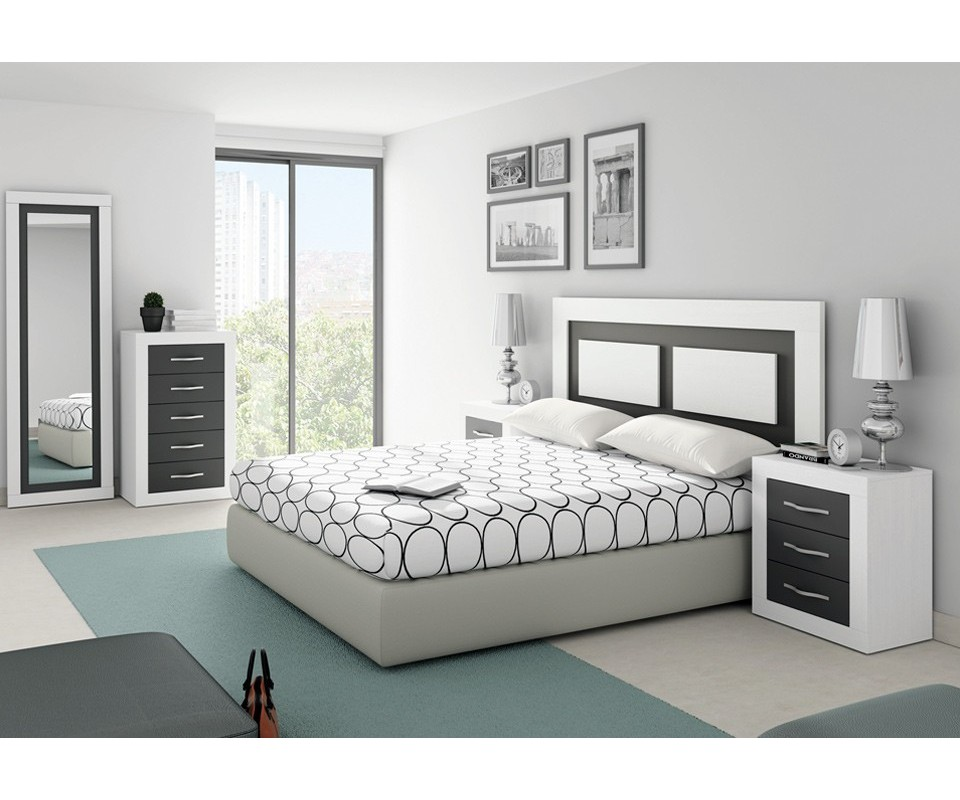 Comprar cabecero moderno siena precio cabeceros y camas - Cabecero y mesillas ...