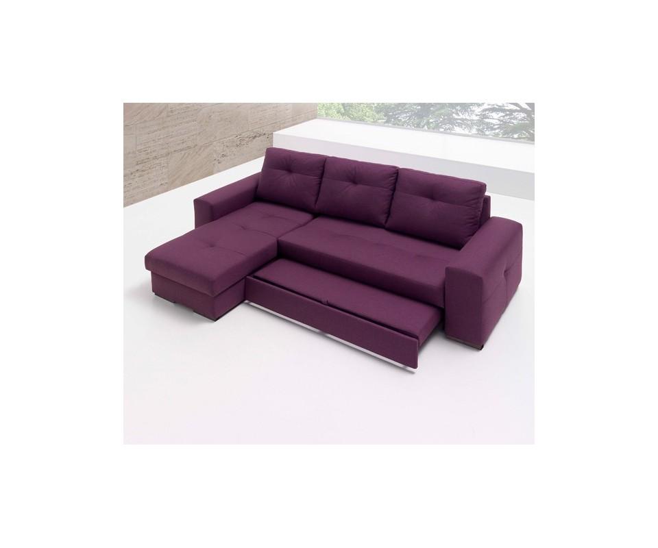 Comprar sof cama con chaise longue montana precio sof s for Compra de sofa cama