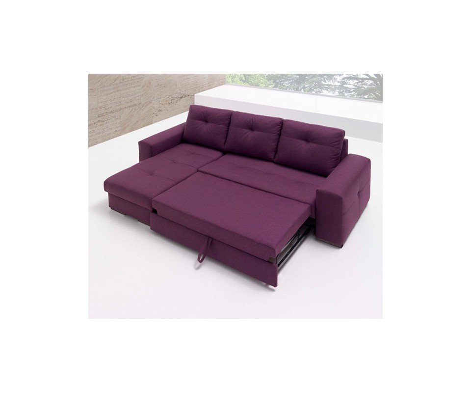 Comprar sof cama con chaise longue montana precio sof s for Chaise longue comprar