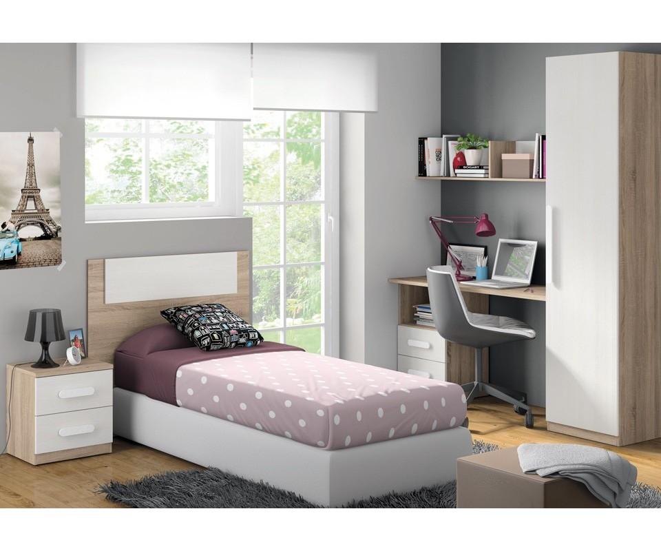 Comprar dormitorio juvenil luc a precio juveniles - Armarios para habitaciones pequenas ...