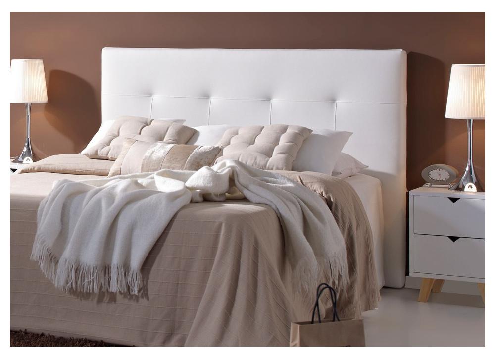 Comprar cabecero de cama blanco caro precio cabeceros - Cabecero cama blanco ...