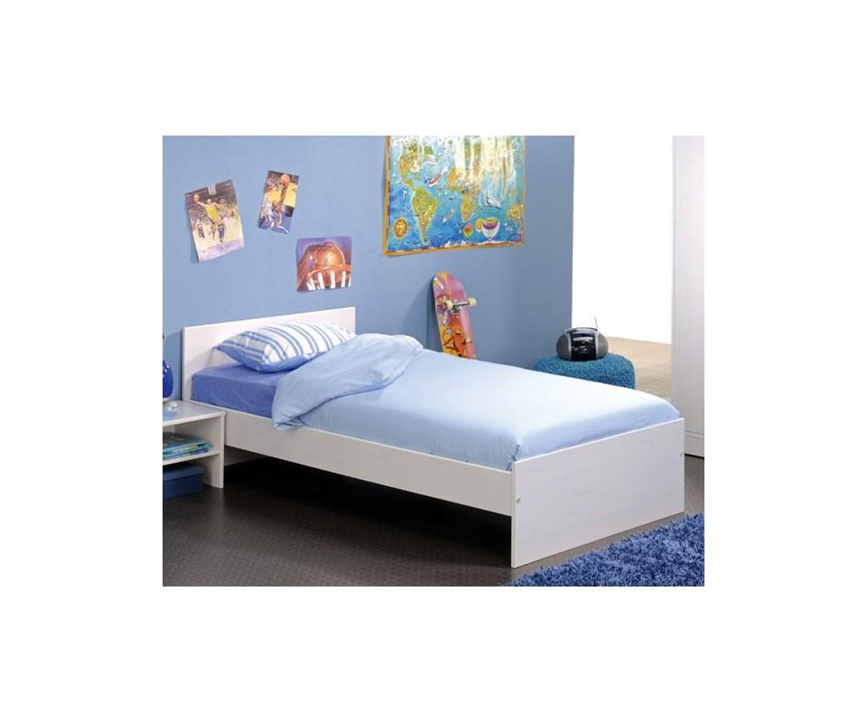 Comprar cama individual precio juveniles for Cama individual blanca
