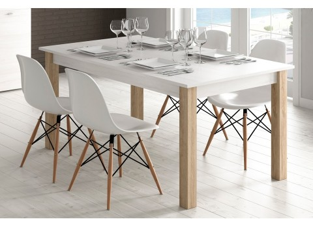 Comprar Mesa de comedor extensible Trevi | Precio mesas comedor Tuco.net