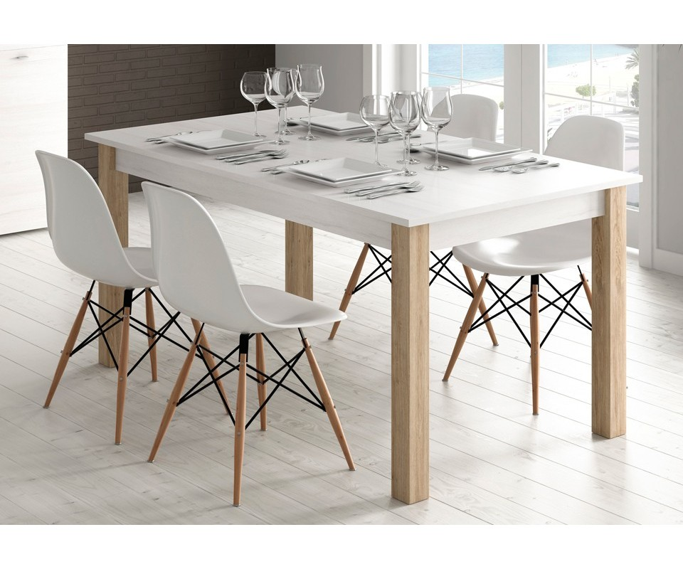Comprar mesa de comedor extensible trevi precio mesas - Mesa comedor ovalada extensible ...