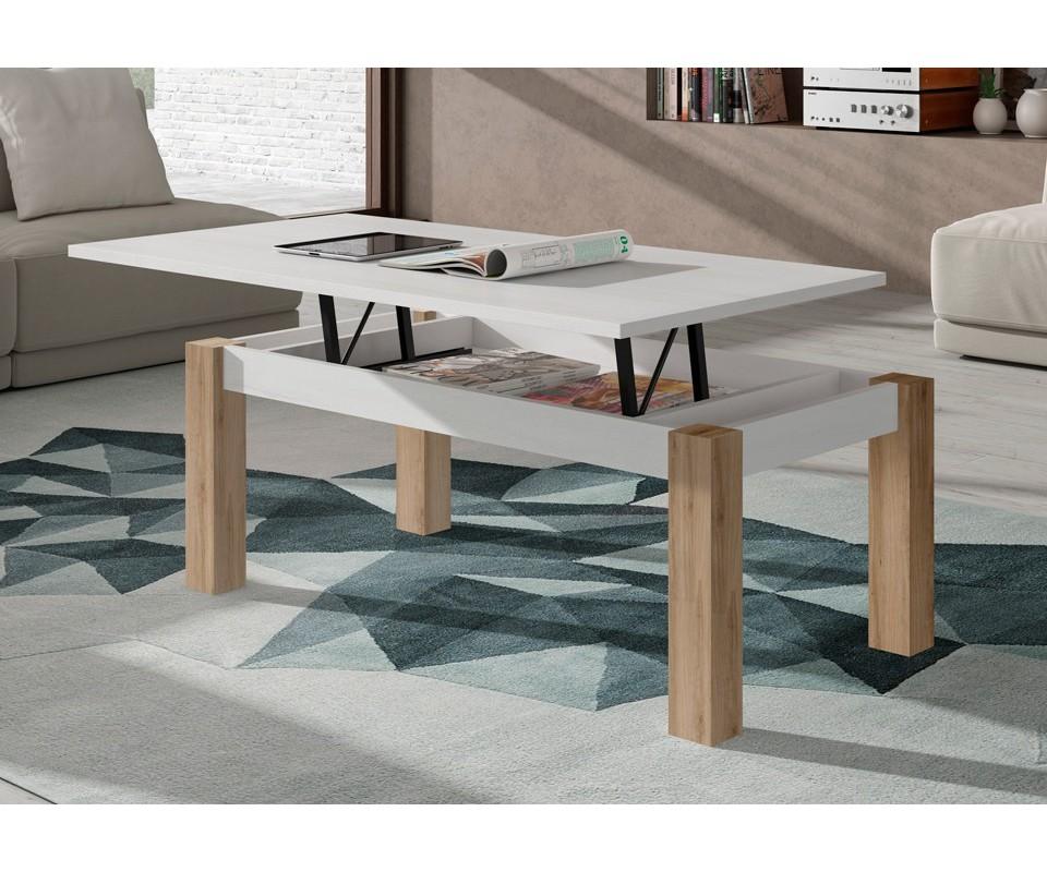 Comprar mesa de centro elevable trevi precio mesas de for Mesas de comedor tuco