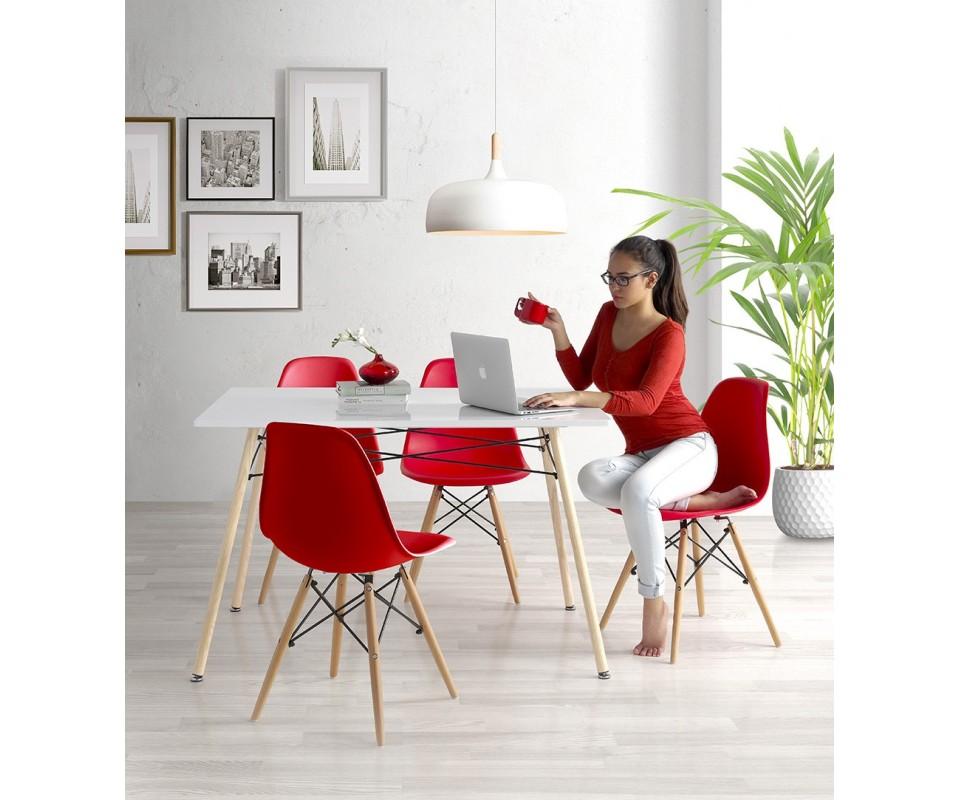 Comprar conjunto mesa m s sillas living for Mesas y sillas de oficina