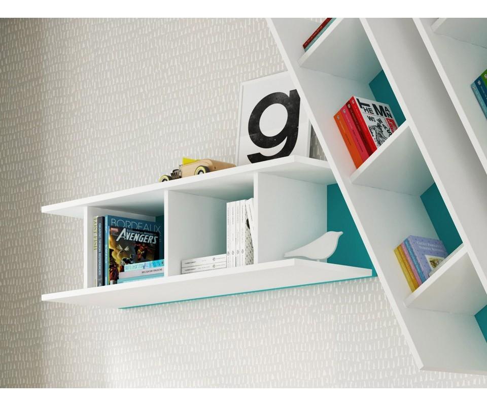 Estante de pared aurora muebles tuco for Cosas modernas para el hogar