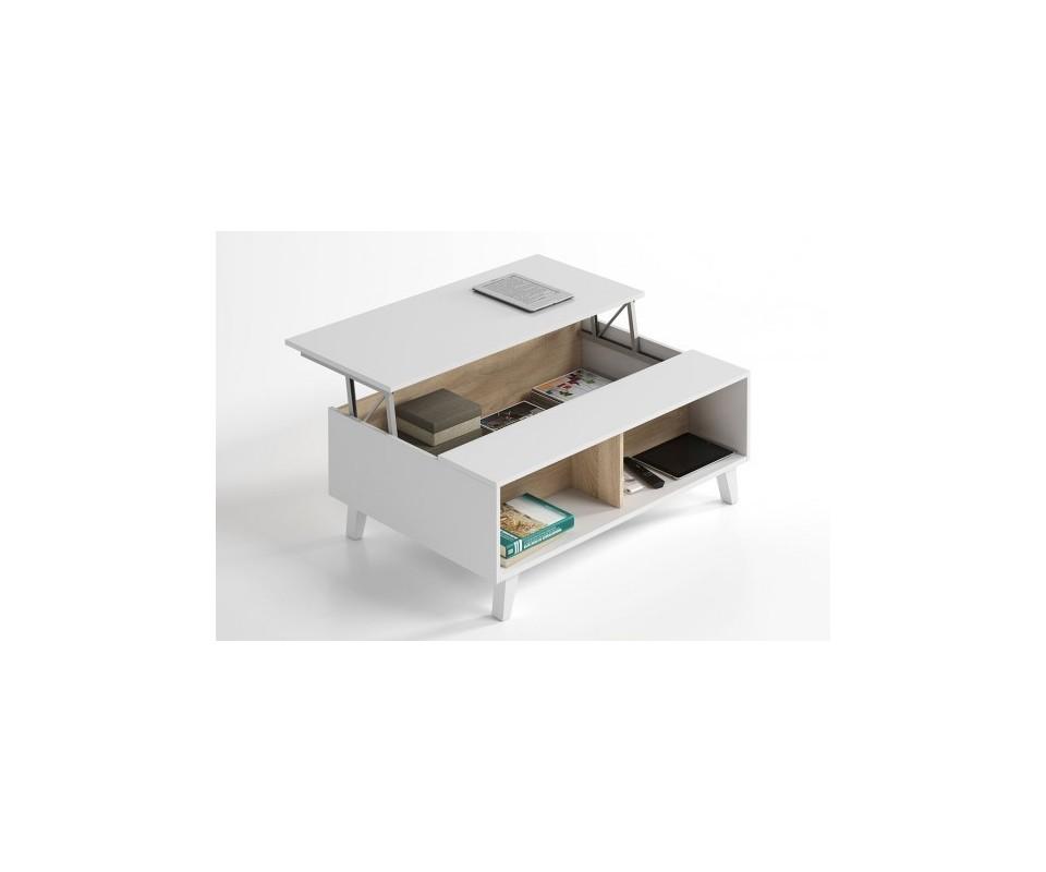 Mesas de centro de vidrio y madera en Muebles TUCO - Muebles TUCO