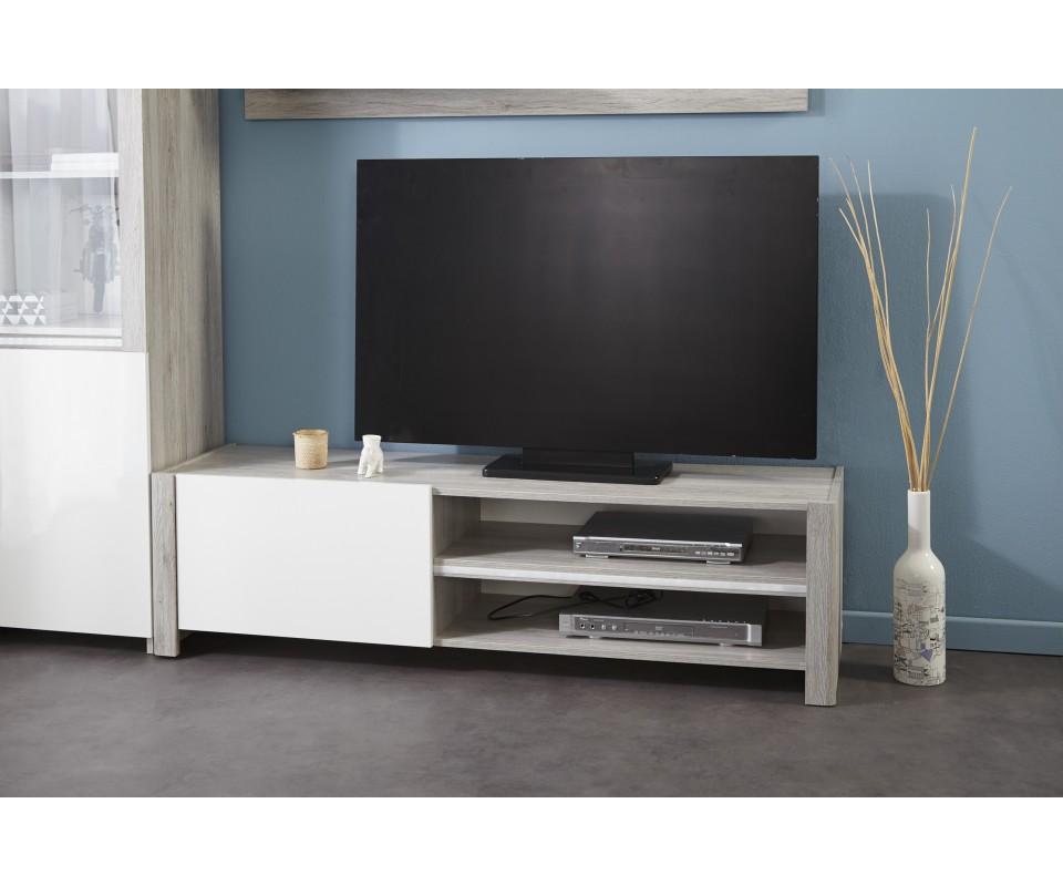 Mueble para tv lua comprar muebles para tv en muebles rey for Mueble para tv blanco