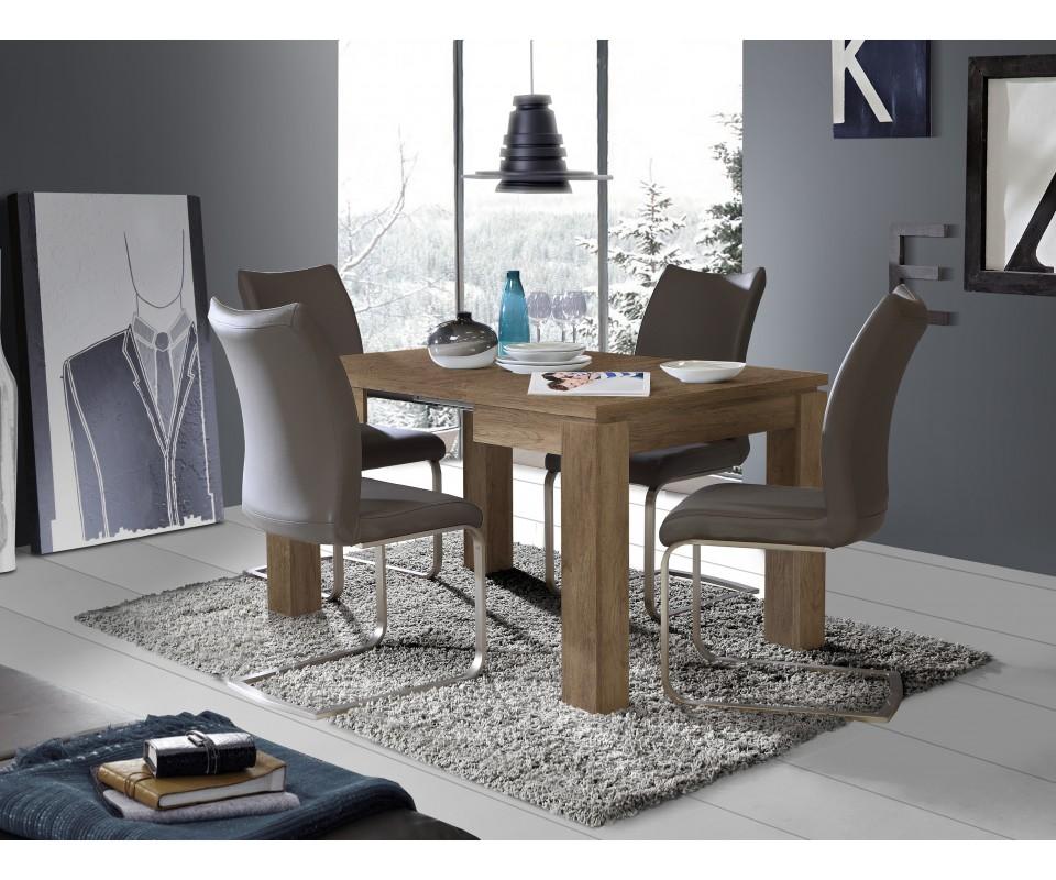 Comprar mesa comedor cuadrada extensible agora - Mesas de comedor restauradas ...