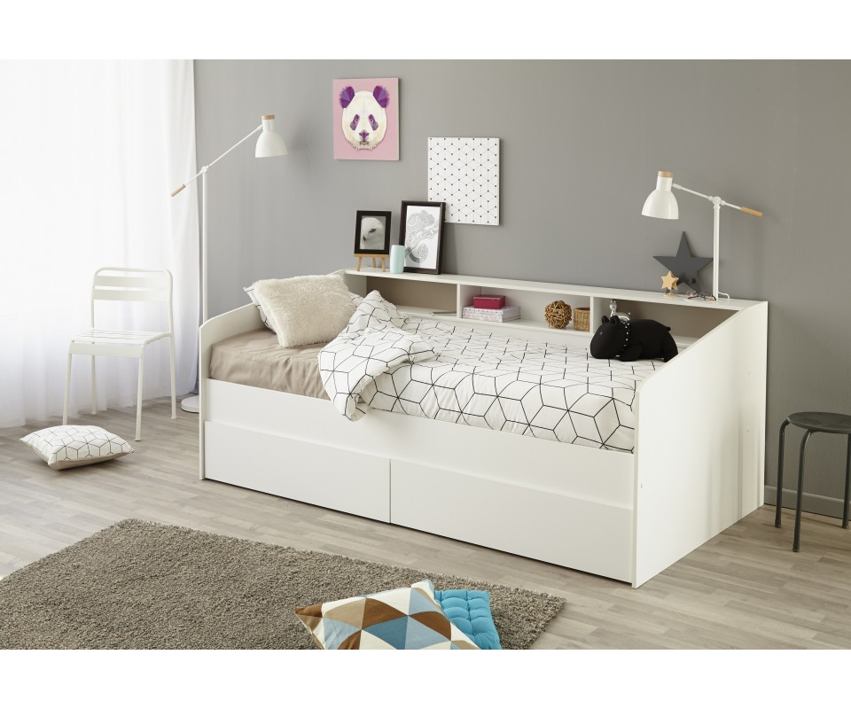 Comprar cama div n barata precio camas nido en muebles for Cama nido con cajones ikea