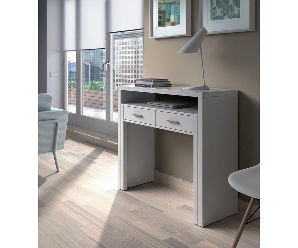 Comprar mesa de estudio dakota for Mesas de estudio para espacios pequenos